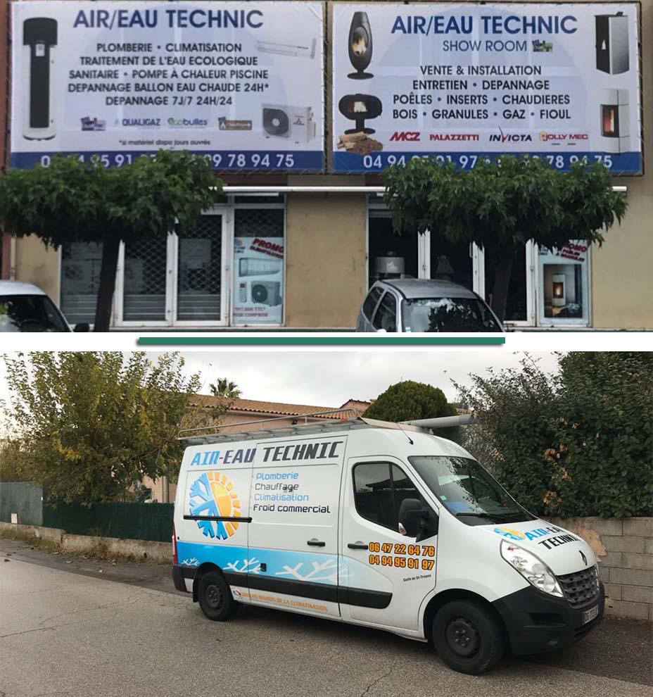 Entreprise de plomberie et de chauffage sur Grimaud, Sainte-Maxime et Saint-Tropez dans le Var